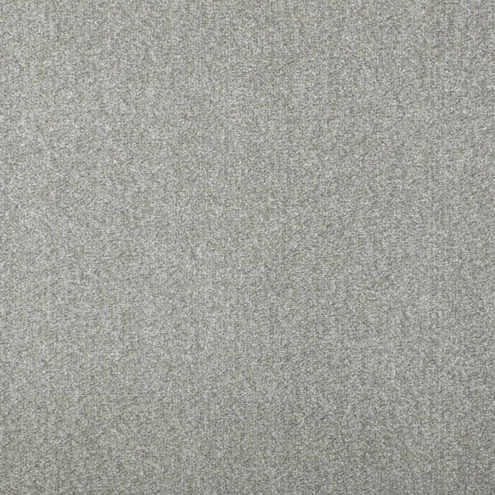 Light Grey Budget Saxony Carpets Feltback Self Adhesive